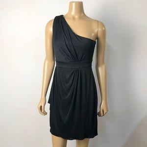 Diane von Furstenberg DVF one shoulder silk blend